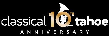 Classical Tahoe 10th Anniversary logo